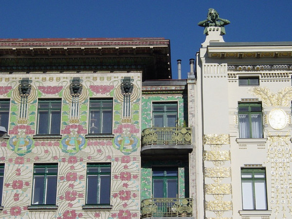 jugendstil 600x450 6 Cool Neighborhoods of Vienna