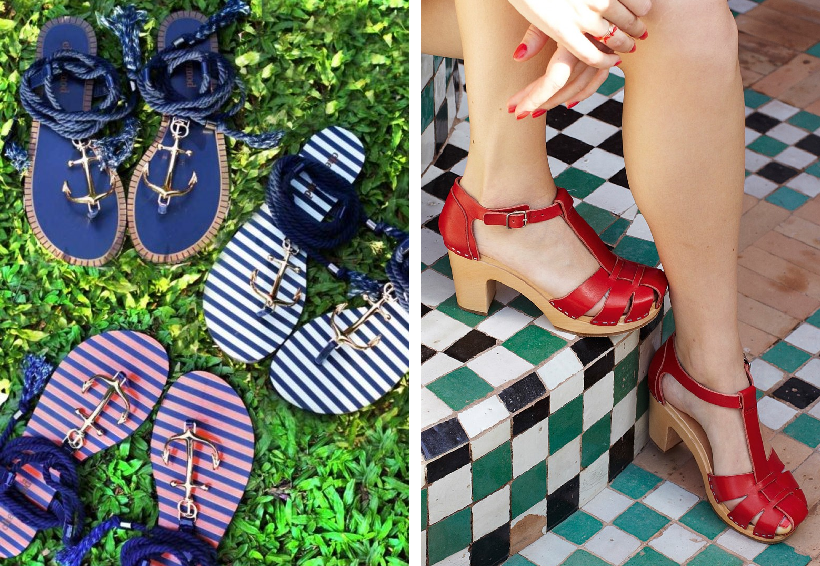 What to Pack for a Sailing Holiday - Shoes