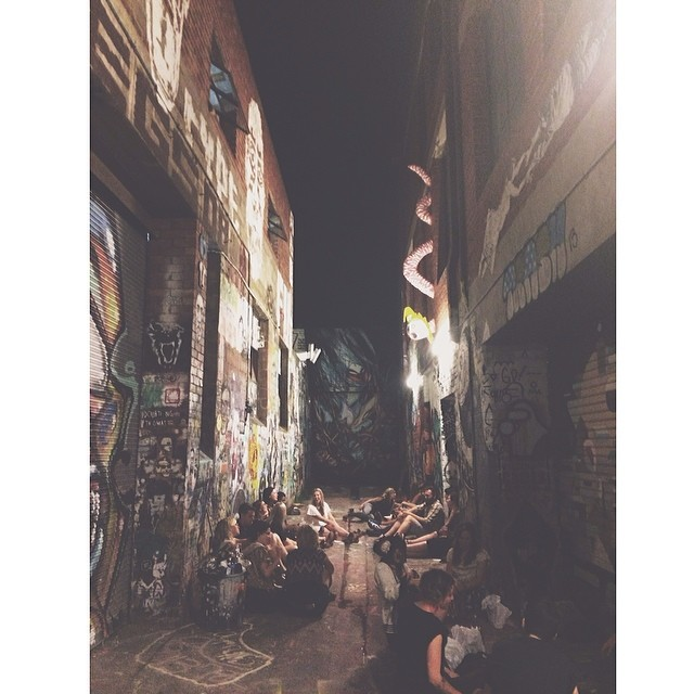 julia howland melbourne arts club alleyway
