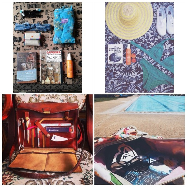 In your beach bag #dailytravelette travelettes instagram