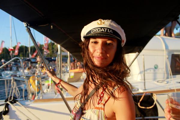 Alex Saint Travelettes SailingHR Captain Marie