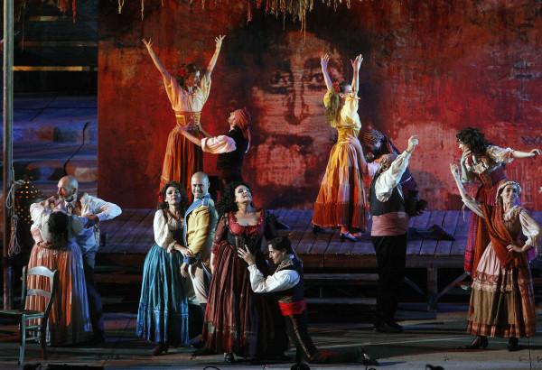 Carmen1 600x410 Opera for all   the Arena di Verona Festival