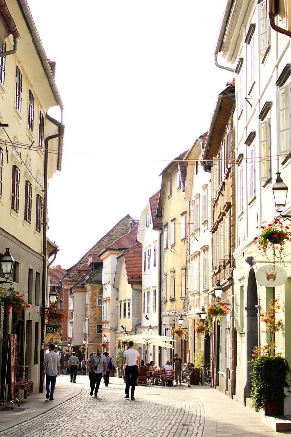 Ljubljana Street Scene