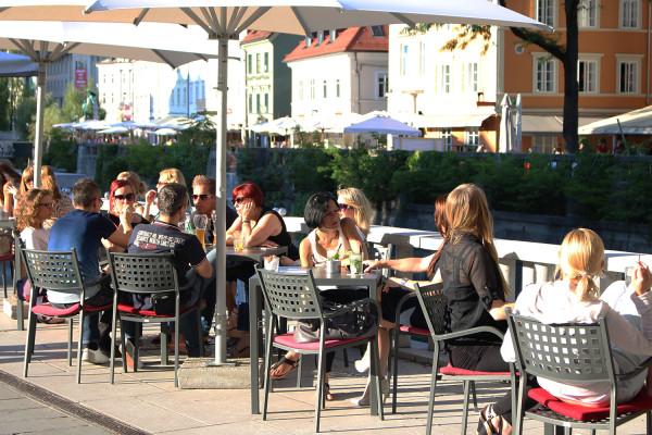 Locals in Ljubljana