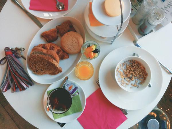 Breakfast at Hotel Pincoffs Rotterdam - Frances M Thompson