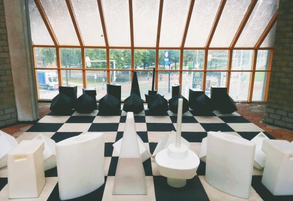 Chess Piece Museum in Rotterdam