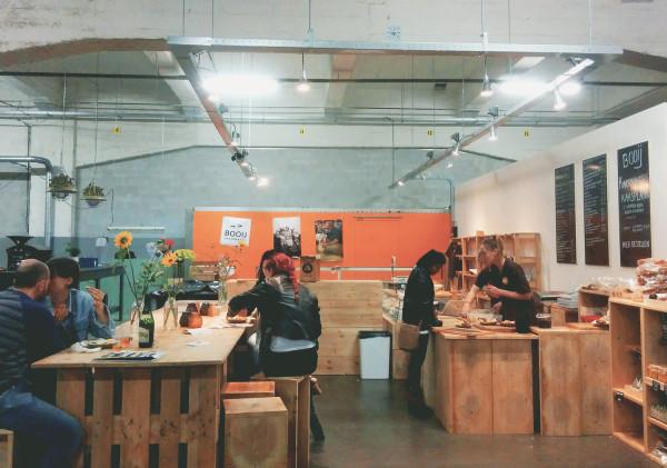 Inside Fenix Food Factory in Rotterdam - Frances M Thompson