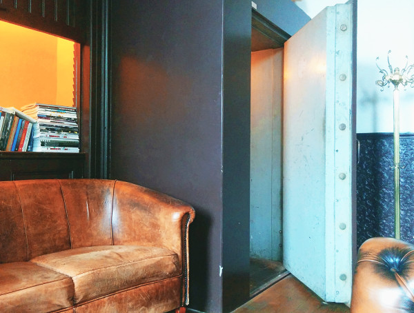 Inside Pincoffs Safe - Hotel Pincoffs Rotterdam - Frances M Thompson