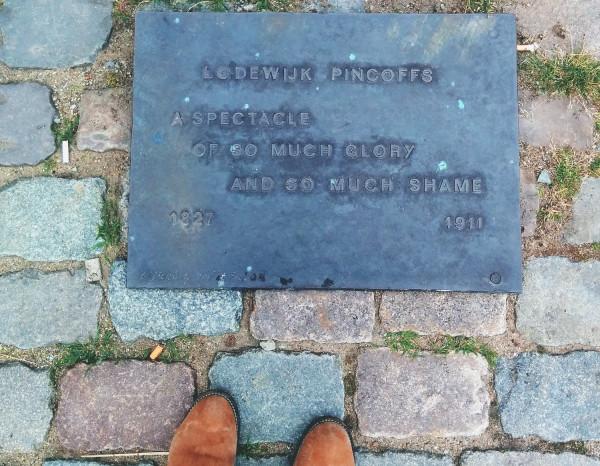 Lodewijk Pincoffs Plaque in Rotterdam - Hotel Pincoffs Rotterdam - Frances M Thompson