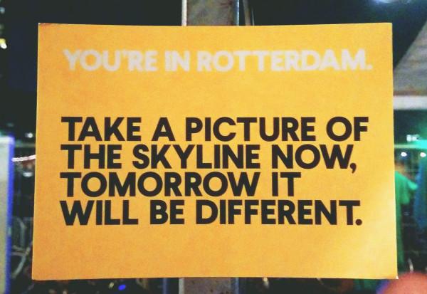 Rotterdam Postcard - Frances M Thompson