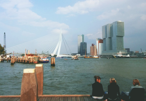 View of Rotterdam from Veerhaven - 21 More Reasons to Love Rotterdam - Frances M Thompson