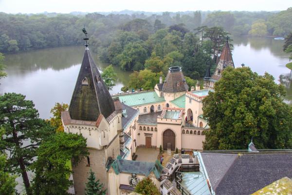 laxenburg castle gardens, franzensburg / day trips from vienna / kathi kamleitner