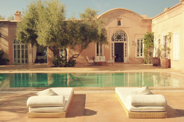 luxury in marrakech by Frances M Thompson