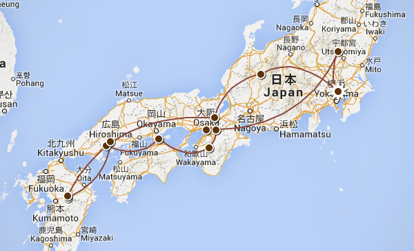 Travelettes The Travelettes Itinerary For Japan