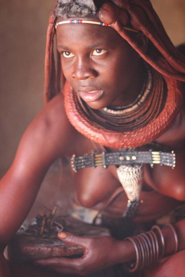 Tribe women himba african girl Nude
