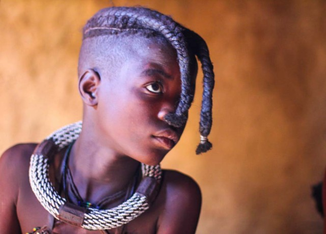 Meeting the Himba in Namibia