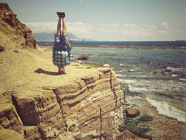 Seeing the world with new eyes: Headstands by Anton Charushin