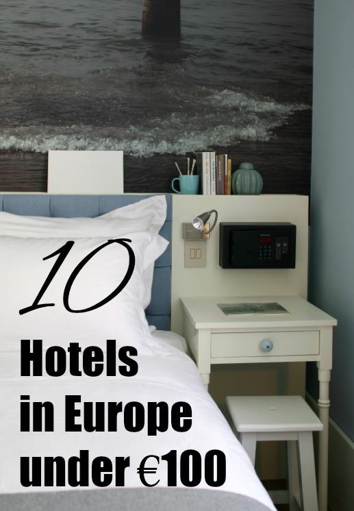 Hotels under €100