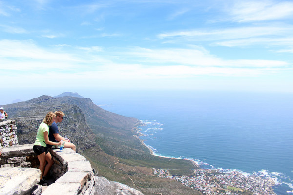 Top of Table Mountain Cape Town - By Frankie Thompson