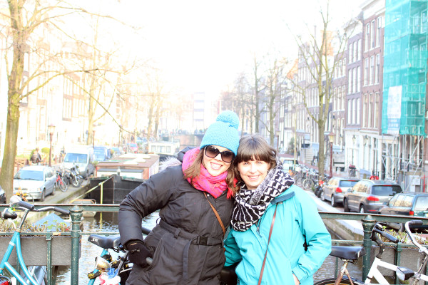 With a good friend in Amsterdam - Frankie Thompson