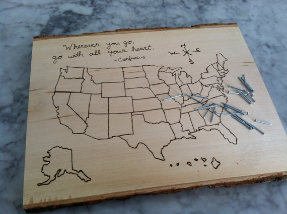 Travelettes Wedding gifts for the Travelettes in your life – World Map Gifts For Travelers