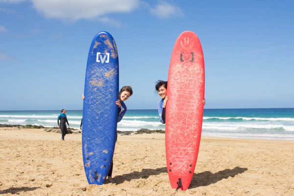 Learn to surf with Planet Surf Camp, Fuerteventura | travelettes.net