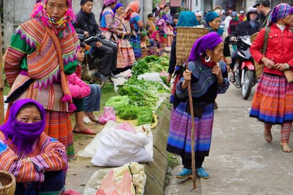 The Sunday market in Bac Ha, Vietnam - Liv Clarke 18