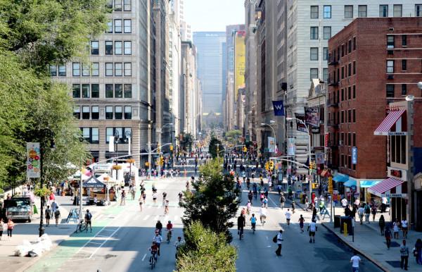 new york in summer