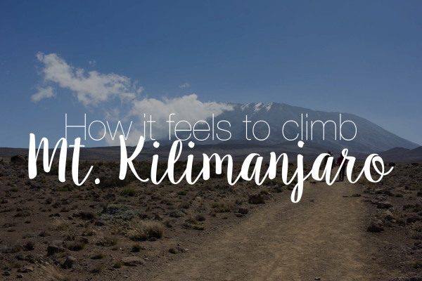 How it feels to climb Mt. Kilimanjaro, by Kathi Kamleitner | travelettes.net