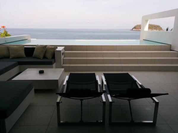 Balcony at Kata Rocks Apartment