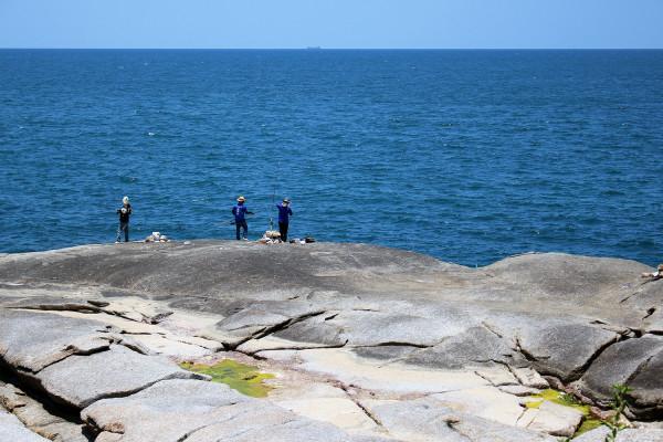 Fishermen near Kata Rocks - Photos of Luxury Babymoon in Thailand
