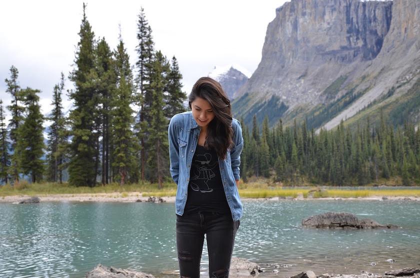 Traveletty adventure in jasper national park canadadian rockies