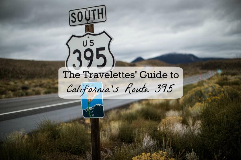 Highway 395 near Lee Vining, California.