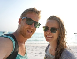 Couples who travel and blog: Jules and Christine