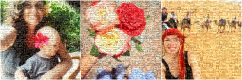 10 awesome ways to turn your photos into christmas gifts - Mosaic poster print, Postrgram