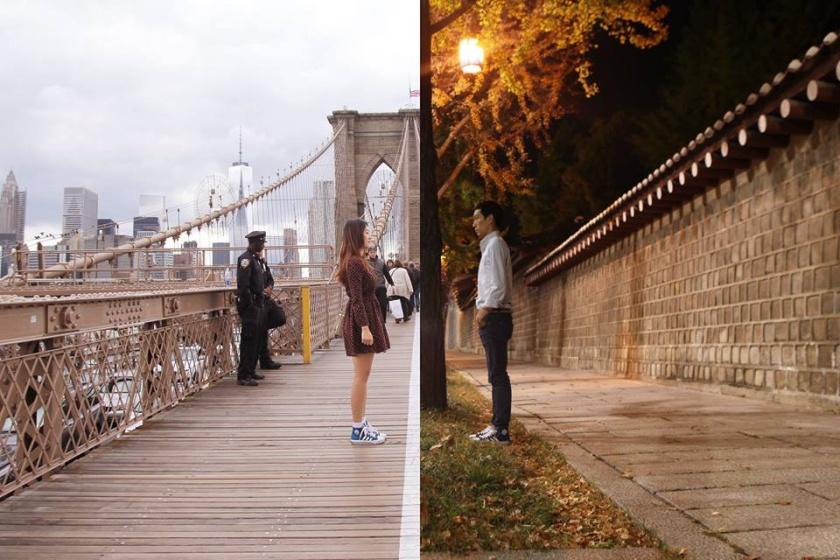 shinliart long distance relationship art project