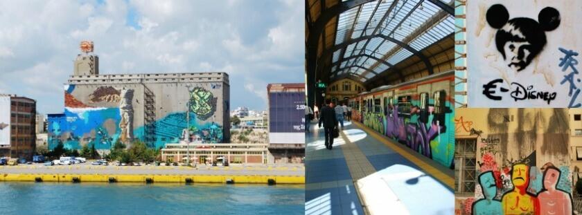Athens - the New Mecca for Street Art, Travelettes, Nadja Sayej