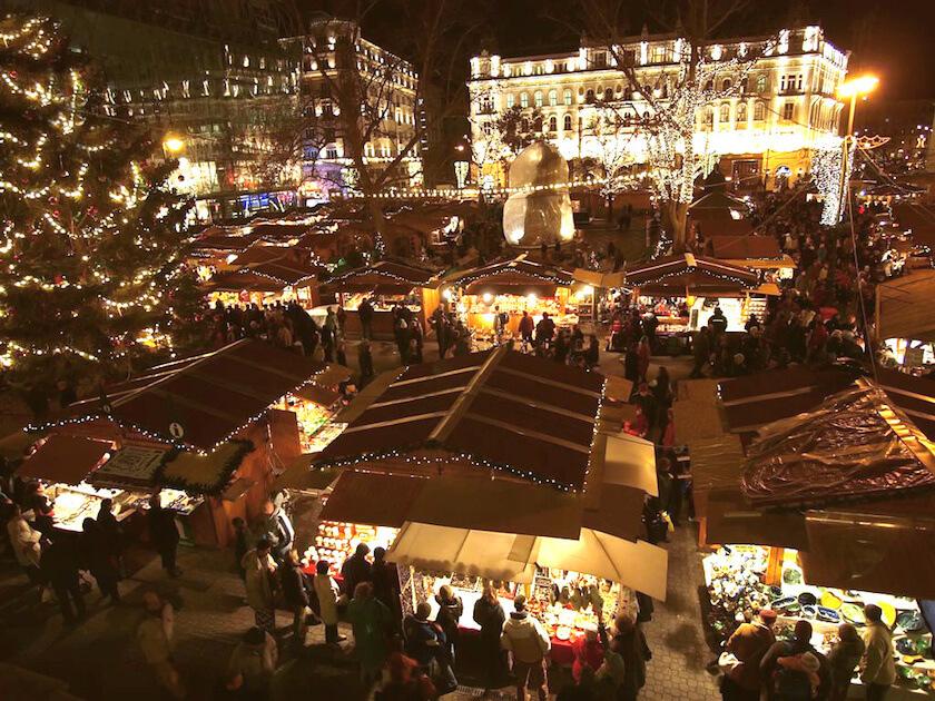 Christmas Fair Budapest