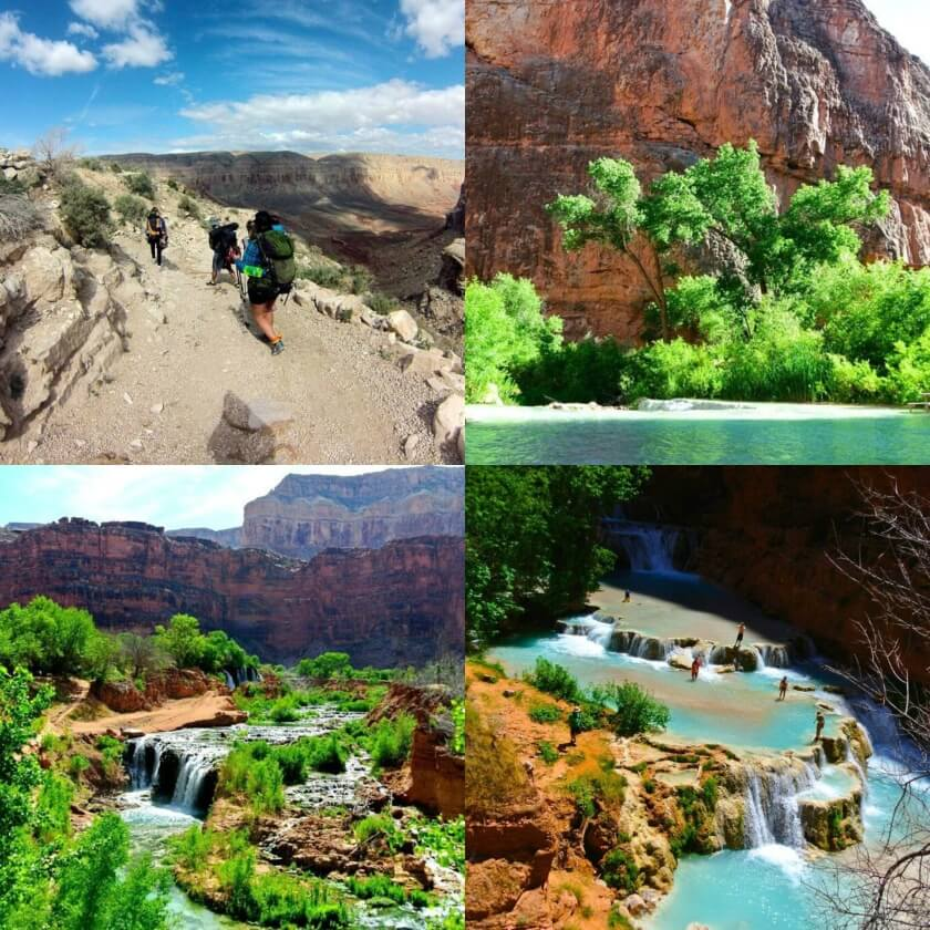 Havsupai Collage
