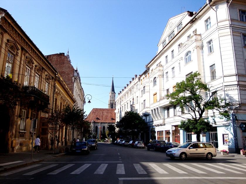 Romania_Cluj_Napoca_citycentre_way_to_university