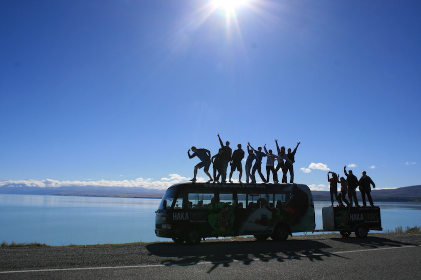 Sillouette-tour-members-on-bus
