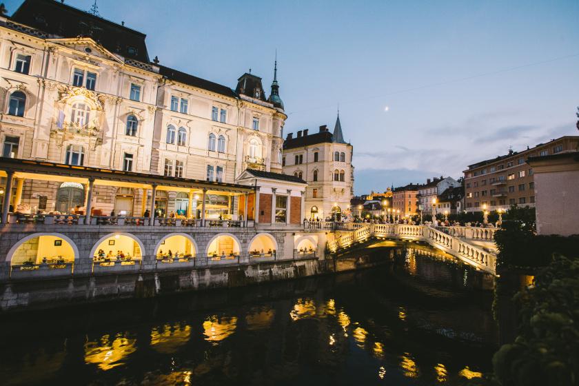 12. Ljubljana at Night
