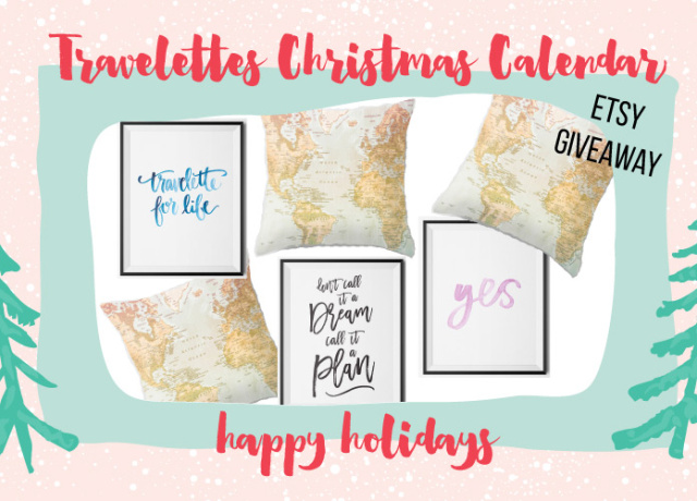 Travelettes Christmas Calendar - Day 3: Prints of Wanderlust