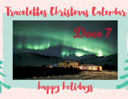 Travelettes Christmas Calendar – Day 7: Icelandic Glacier Walk & Northern Lights plus Comfy Onesies