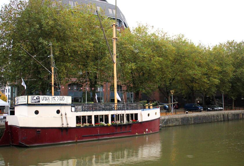 under the stars bristol boat sophie saint