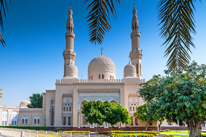 7 Things to do in Dubai on a Layover - Grand Mosque