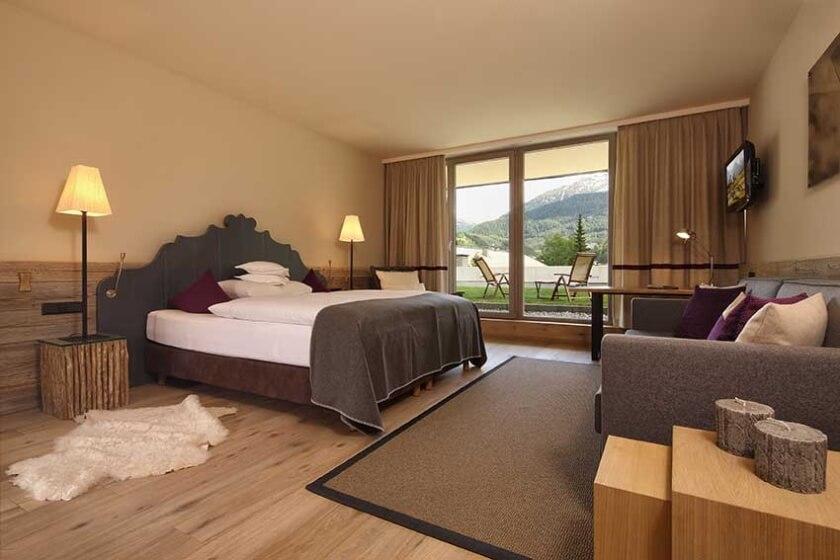 Bergland Hotel Suite Panorama mit Terrassenzugang ∏Anton Klocker www.kdgs.at