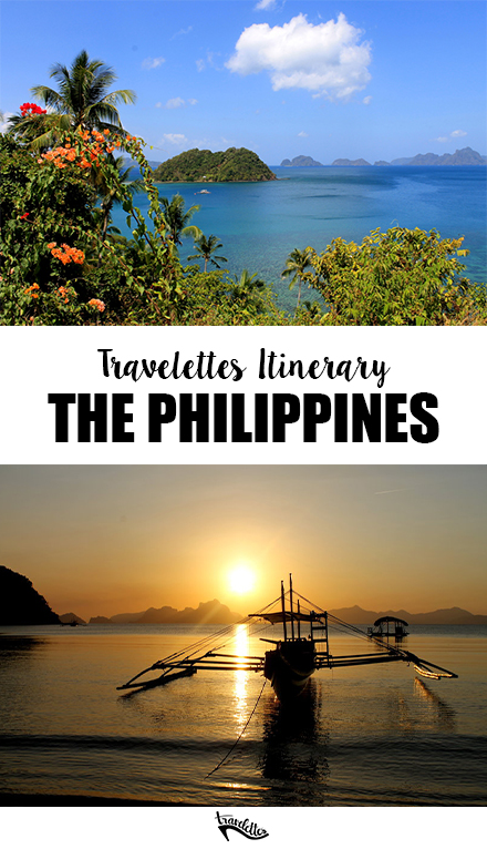 The Travelettes Itinerary for the Philippines