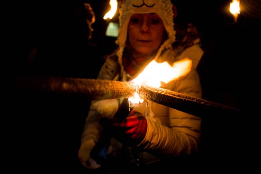 edinburgh torchlight procession-8