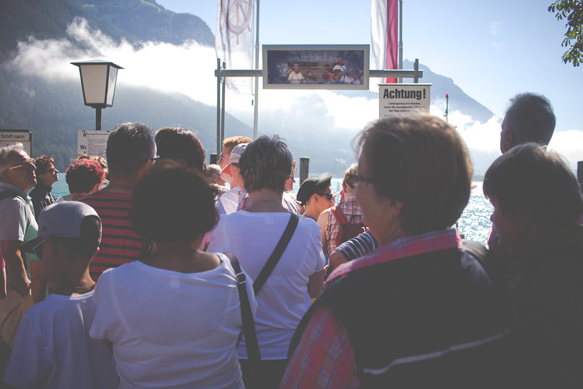 A Mountain Getaway in the Alps: Achensee, Taking the Lake Ferry | Travelettes.net
